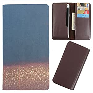 DooDa - For Acer Liquid E700 PU Leather Designer Fashionable Fancy Case Cover Pouch With Card & Cash Slots & Smooth Inner Velvet