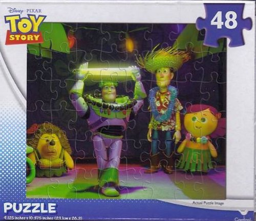 Disney Toy Story Hawaiian Vacation Luau 48 Piece Jigsaw Puzzle - 1