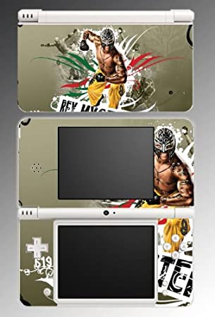 Rey Mysterio Wrestling Champion WWE Game Vinyl Decal Skin Protector Cover #5 for Nintendo DSi XL