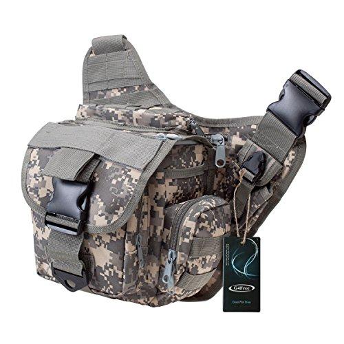 G4Free® Multi-functional Tactical Messenger Bag (ACU)