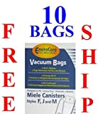 For MIELE Vacuums F J M (10 BAGS + 4 FILTERS)