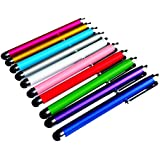 TEEPEE ONLINE� 10 x QUALITY STYLUS PENS for TOUCH SCREENS, IPAD , TABLET , IPHONE, SAMSUNG ETC