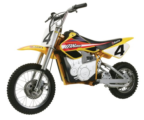 New Razor MX650 Dirt Rocket Electric Motocross Bike