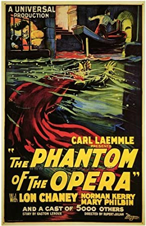 The Phantom of the Opera POSTER Movie (27 x 40 Inches - 69cm x 102cm) (1925) (Style B)