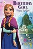 Greeting Card Disney Frozen Birthday Girl Today's Your Day with Stickers by Hallmark