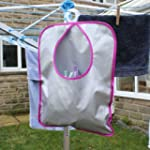 JVL Shower proof Peg Bag in Pink