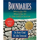 Boundaries: When to Say Yes, When to Say No-To Take Control of Your Life [Miniature Edition] (Inspirio/Zondervan Miniature Editions) ~ Henry Cloud