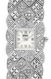 Badgley Mischka Ba-1131mpsv Crystal Bracelet Ladies Watch