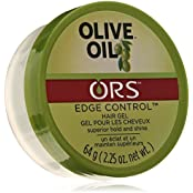 Organic R/s Root Stimulator Olive Oil Edge Control Hair Gel, 2.25 Ounce