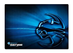 ROCCAT Sense Chrome High Precision Gaming Mousepad, Blue (ROC-13-103)