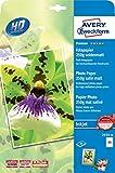 Avery Zweckform 2559-20 Premium Inkjet Fotopapier 20 Blatt
