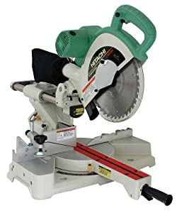 Hitachi C10FSH 10 -Inch Sliding Compound Miter Saw with Laser