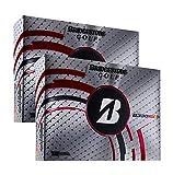 NEW BRIDGESTONE B330-RXS White 4-Piece Tour Spin & Distance Golf Balls | 2 Dozen thumbnail