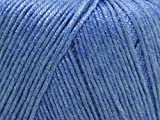 Sirdar Snuggly Baby Bamboo DK Knitting Yarn Dinky Denim 117 - per 50g ball