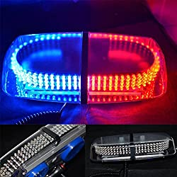 See XKTTSUEERCRR Red Blue Vehicle Car Truck Emergency Hazard Warning 240 LED Mini Bar Strobe Flash Light Details