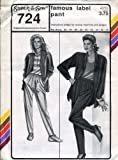 Stretch & Sew Pattern 724 Famous Label Pant Hip 32-48