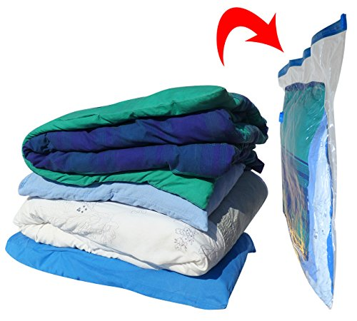 Vacwel Vacuum Storage Bags Extra Strong 32 X 43 Inch