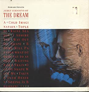 Howard Devoto Jerky Versions Of The Dream