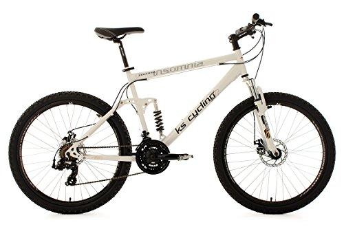 KS-Cycling-Fahrrad-Mountainbike-Vollgefedert-Insomnia-RH-50-cm-Wei-26-101B