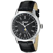 Ingersoll Men's INQ027BKSL Oxford Analog Display Japanese Quartz Black Watch