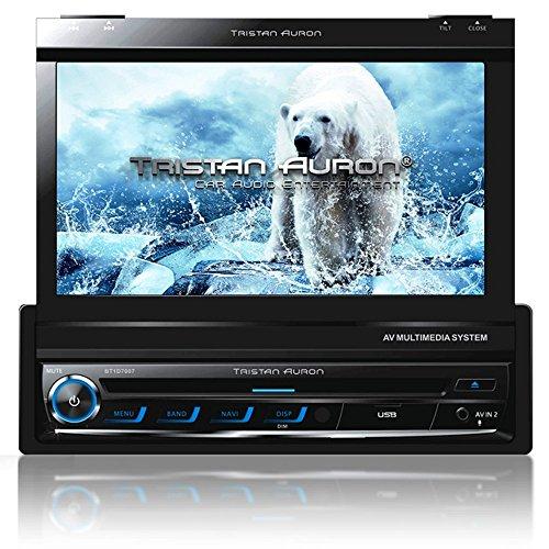 Tristan-Auron-BT1D7007-Autoradio-70-Touchscreen-Navi-Europa-Freisprechfunktion-USBSD-Slot-CDDVD-1-DIN