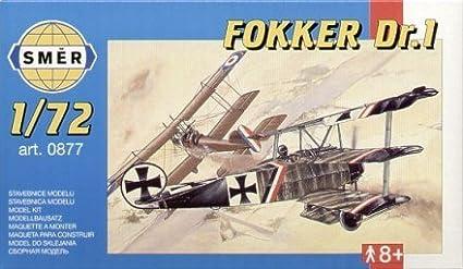 Smer 877 Fokker Dr 1 1:72 Plastic Kit Maquette