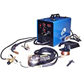 Lotos Technology MIG175 Mig Welder with Free Spool Gun, 175 Amp