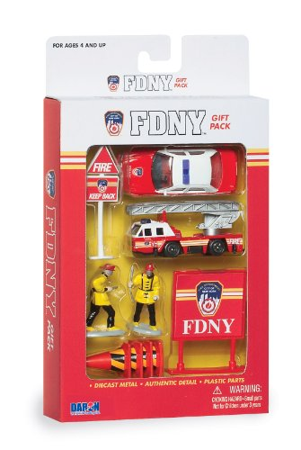 Daron FDNY Gift Set, 10-Piece
