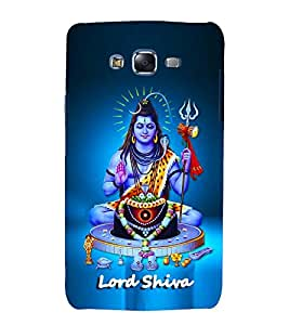 printtech Lord God Shiva Back Case Cover for Samsung Galaxy Quattro i8552 / Samsung Galaxy Quattro Win i8552