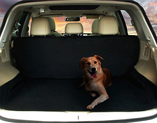 Deluxe SUV Cargo Liner For Pets - Waterproof, Nonslip, Machine Washable Car Seat Cover for Pets, Lifetime Warranty (Cargo Liners For Dogs compare prices)
