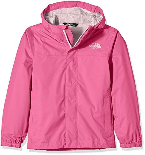 The North Face impermeabile da ragazza G Zipline Rain Jacket, Bambina, Regenmantel G Zipline Rain Jacket, Cha Cha Pink, XS
