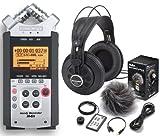 Zoom H4N Handy Recorder + Zoom APH-4N Zubehörset + Samson SRH850 Kopfhörer
