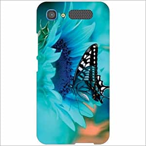 Intex Aqua Y2 Pro Back Cover - Silicon Butterfly Designer Cases