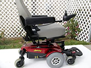 Jazzy Select 6 Ultra Wheelchair - Used Power Chairs