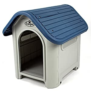Plastic Dog Kennel Weatherproof for Indoor and Outdoor Use (940)