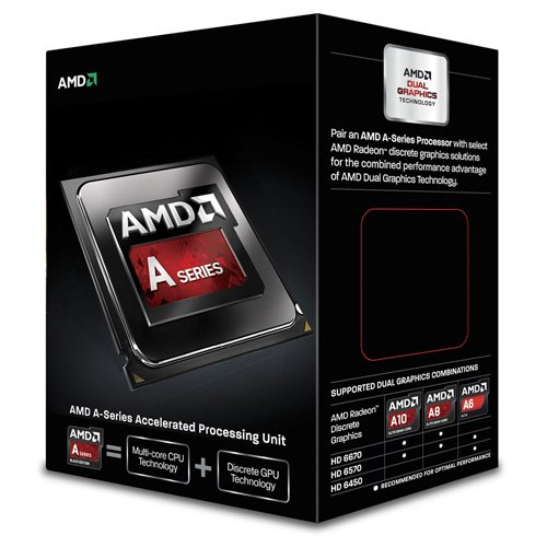 AMD A-Series A6 6400K Black Edition ソケットFM2 TDP 65W 3.9GHz×2 GPU HD8470D AD640KOKHLBOX