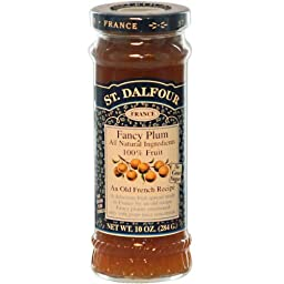 St. Dalfour - Fruit Spread 100% Natural Jam Fancy Plum - 10 oz.
