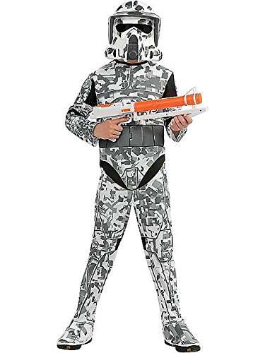 Star Wars The Clone Wars, Child's Costume And Mask, Arf Trooper Costume