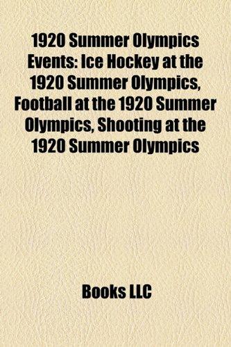 1920 Summer Olympics Events: Ice Hockey at the 1920 Summer Olympics