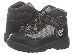 Timberland Field Boot Leather/Fabric Toddlers15840 Style: 15840-BLK/GREY Size: 6