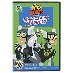 Wild Kratts: Madagascar Madness DVD