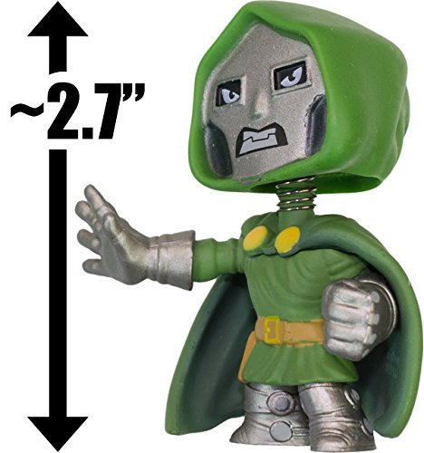 "Doctor Doom: ~2.7"" Marvel x Funko Mystery Minis Vinyl Mini-Bobble Head Figure Series - 1"