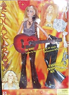 Mattel Barbie Fashion Games Barbie SHAKIRA Guitar