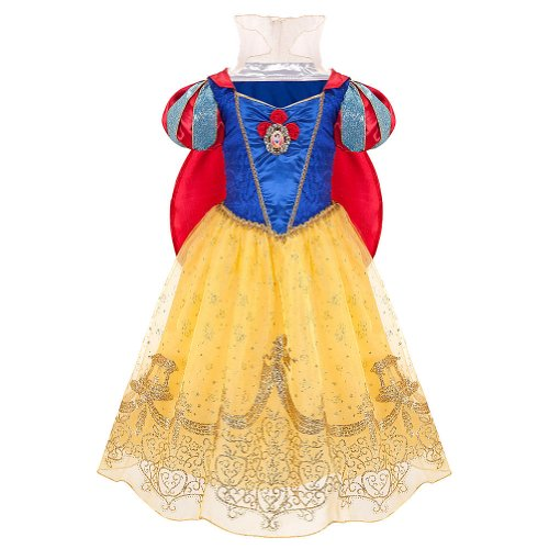 Disney Store Princess Snow White Halloween Costume Dress: Size Small 5/6 - 5T