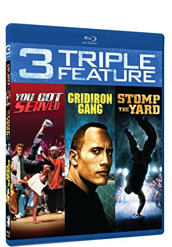 You Got Served, Stomp The Yard, Gridiron Gang - BD Triple Feature [Blu-ray]