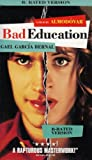 Bad Education (R-Rated Edition)- Dubbed in Spanish - English subtitles [VHS]