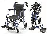 Wickelkommode - Leichte Deluxe-Klappreise Rollstuhl in einer Tasche mit Handbremsen - ECTR04