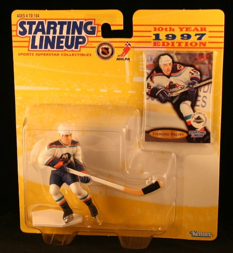 Zigmund Palffy Action Figure - Starting Lineup 1997 Edition Hockey Sports Superstar Collectible