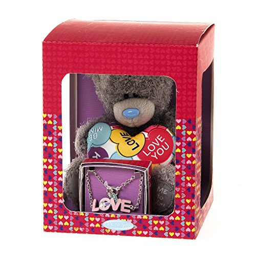 Me to You Tatty Teddy Love-Armband mit Herz-Geschenk-Set,