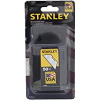50 Pack Stanley 11-921L Heavy Duty Utility Blades